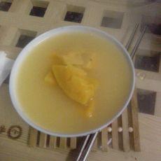 玉米面山芋汤