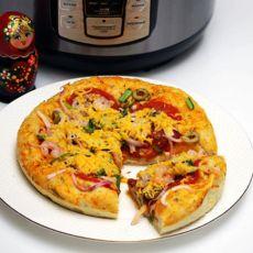 鲜虾芝士pizza