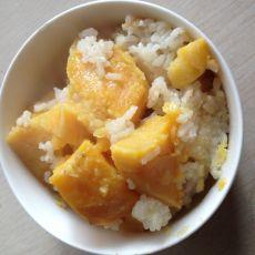 地瓜米饭的做法