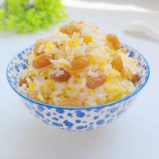 葡萄干金银米饭