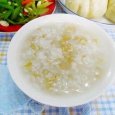 白米麦片粥