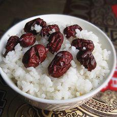 大枣米饭的做法
