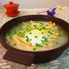 鸡蛋金针菇汤