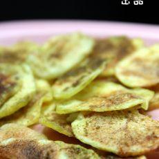 微波孜然薯片
