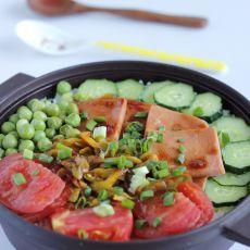 西红柿煲仔饭的做法