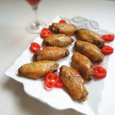 微波红酒烤鸡翅的做法