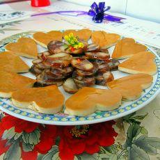 香肠豆片冷盘的做法