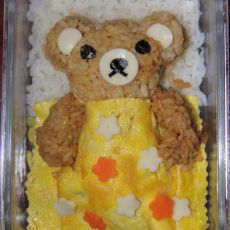 轻松熊咖喱饭——晚安小熊熊