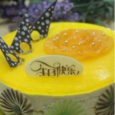 黄桃慕斯蛋糕