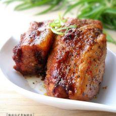 微波版法式黑椒烤肉的做法