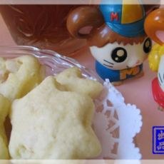 杏仁椰香曲奇饼(微波版)