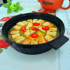 微波炉煮豆腐