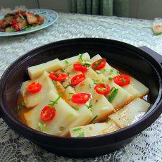 微波米豆腐的做法