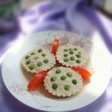 莲蓬鸡蓉豆腐