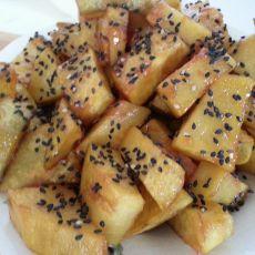 焦糖黑芝麻红薯