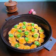 微波炉焖红萝卜