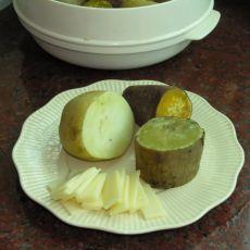 微波炉红薯土豆