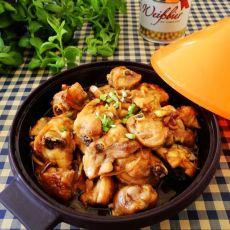 塔吉锅酱汁鸡块