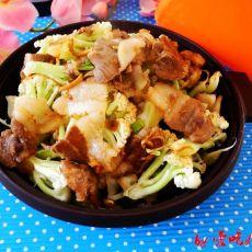 塔吉锅猪肉菜花