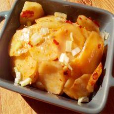 微波孜然土豆片的做法