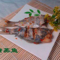 微波清蒸银鲳鱼