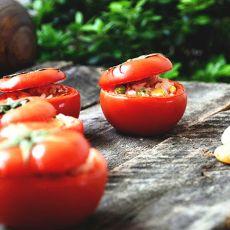 蕃茄米饭盅的做法