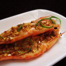 腐乳蒜蓉虾