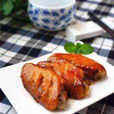 蒜香粉蜜汁烤翅