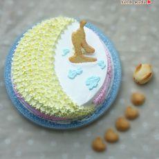 中秋蛋糕嫦娥奔月