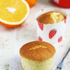 橙香海绵小蛋糕