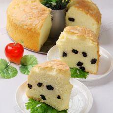 杏仁黑葡萄干酸奶蛋糕