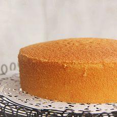 6寸全蛋海绵蛋糕