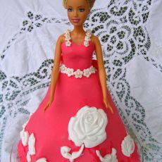 翻糖蛋糕芭比娃娃
