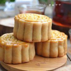 板栗绿豆蓉月饼