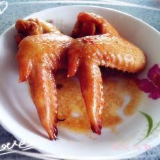 蜜汁烤全翅――比翼双飞