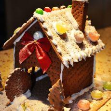 圣诞可可饼屋