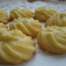原味黄油曲奇的做法