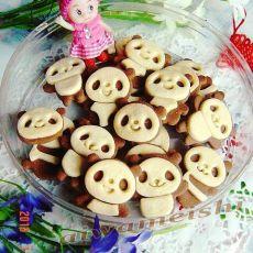 熊猫黄油曲奇饼干