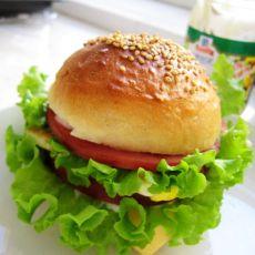 自制汉堡胚