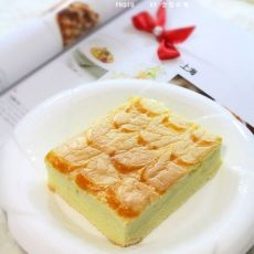 千叶纹黄金蛋糕