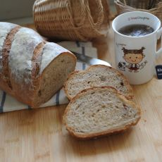 全麦红糖核桃面包