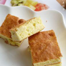 玉米面葡萄干小蛋糕
