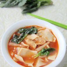 酸菜汤饭的做法
