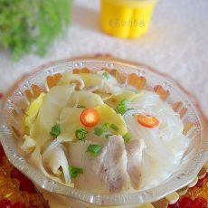 开胃酸菜白肉粉丝的做法