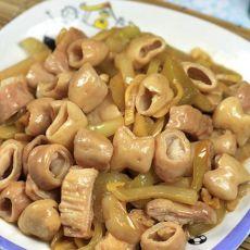 家乡菜--酸菜炒大肠