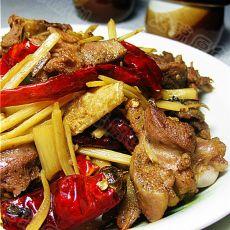 酸笋焖鸭的做法