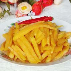 糖醋红薯条