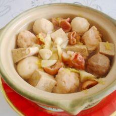 酸菜砂锅煲的做法
