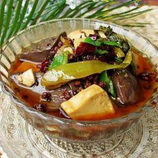 诱惑你的味蕾---酸菜烧血豆腐