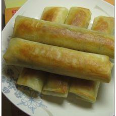 酸菜肉末粉丝春卷